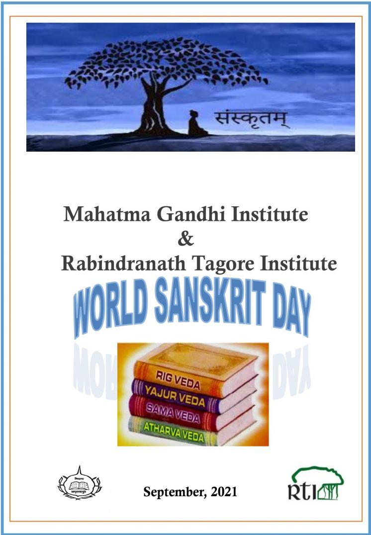 MAHATMA GANDHI INSTITUTE - WORLD SANSKRIT DAY 2021